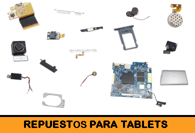 Repuestos Tablets